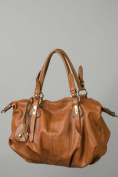 Brown Versatile Shoulder Bag