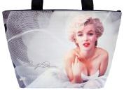 Marilyn Monroe Ballerina Wide Tote Shoulder Bag Purse Handbag