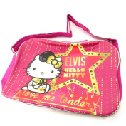 "Shoulder bag ""Hello Kitty"" pink fuchsia (a4)."