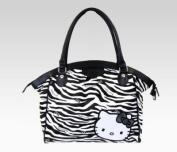 Hello Kitty Shoulder Tote Bag Zebra Print