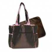 Best Seller Maya Brown Microfiber Tulip Tote by Kitty4u