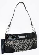 Tommy Hilfiger Small Shoulder Handbag Tote in Black