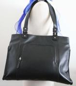 Soft Genuine Leather Shoulder Bag, Everyday Bag, East West Tote, Super Cute,
