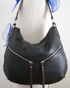 Genuine Leather HOBO bag in Two Toned Colors, Shoulder Bag - RARE!