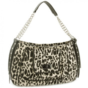 Christian Audigier Meredith Shoulder Bag -Leopard