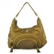 Christian Audigier Natural Charms Holly Hobo Bag - Bronze