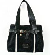 Tommy Hilfiger Pelham Shopper Handbag, Black Tonal