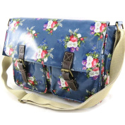"Bag designer ""Liberty"" blue beige."
