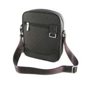 "Shoulder bag ""Ted Lapidus"" dark brown."