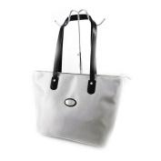 "Shopper bag ""Hexagona"" light gray."