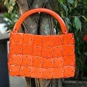 Handbag, 'Tangerine'