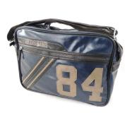 """Shoulder bag """"Redskins"""" turquoise."""