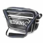 "Shoulder bag ""Redskins"" black (a4)."