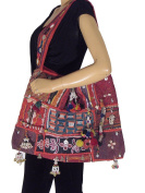 Trendy Fashionable Sling Bag Handmade Embroidered Hobo Cross Body Shoulder Style