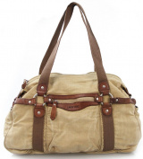 Canvas Man's Shoulder Handbag Vintage Washing Bag