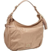 Juicy Couture Hobo - Nylon Ellie Dark Beige