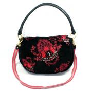 Juicy Couture Medium Black Shoulder Bag/ Cross Body Bag (Black) #YHRUS478
