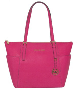 Michael Kors Jet Set Top-zip Tote in Zinnia
