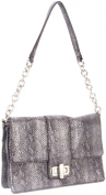 B. MAKOWSKY Harlow Shoulder Bag,Black,One Size