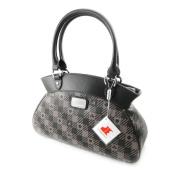 """Shoulder bag bag """"Jacques Esterel"""" dark grey."""