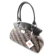 """Shoulder bag bag """"Jacques Esterel"""" brown."""
