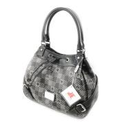 "Purse bag ""Jacques Esterel"" dark grey."