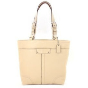 Coach Women's Hamilton Sand Leather Tote