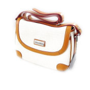 "Shoulder bag ""Ted Lapidus"" white."