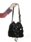 Ranch Mink Drawstring Shoulder Bag