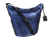 Cole Haan Crosby Metallic Bucket Bag - Blazer Blue Metallic