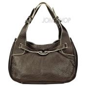 Furla Brown Pebbled Leather Medium Shoulder Bag 174902-BOB875Z