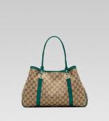 Gucci 'GG Twins' Medium Tote with Interlocking G Details