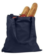 BADedge Canvas Promo Tote HandBag - Navy Blue