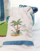 Lillian Rose WG643 FL Small Canvas Bag-Flipflop