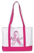 Prestige Medical 705-hpr Large Tote Bag Hope Pink Ribbon