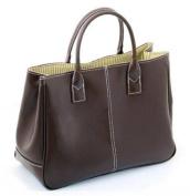 Ginkgo Store Fashion Women Korea Simple Style PU leather Clutch Handbag Bag Totes Purse Coffee