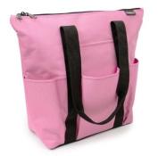 Carry for Cancer 3 Pocket Pink Tote Bag