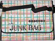 Tim Holtz Junk Bagz Large - Salsa Colors - Striped