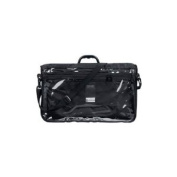 Chabbad Tefillin Tote Bag Rain Proof Black with Carry Handle Clear Front in Size Large 45.7cm W X 27.9cm H