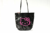 Sanrio Hello Kitty Black Python Tote Bag