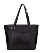 Zipper Ladies Quilted Shopping Convention Tote