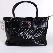 Hello Kitty Handbag Tote Shopping Hand Bag Black