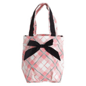 "Shopping bag 'french touch' ""Hôtesse"" gingham."