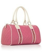 "Nicky Minaj ""Pink Friday"" Pink and White Satchel"