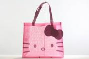 Hello Kitty Tote See Through Me Pink Handbag