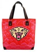 Fluff Smiling Tiger Tote Bag