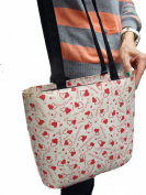 US HANDMADE FASHION SWEETHEART VALENTINES DAY Pattern US Handmade Bag Handbag Purse , BB 4117