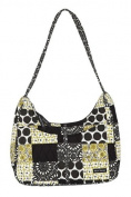 Bella Taylor Chartreuse Blakely Quilted Hobo Handbag