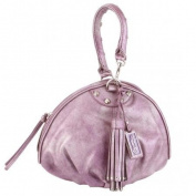 Christian Audigier Cherie Baguette Bag - Purple