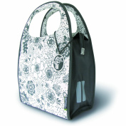 Basil Jada Mirte-Shopper Bike Bag - 35x15x30 (cm), 16L, Marble Gray
